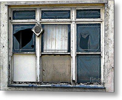 Factory Windows Metal Print by Ethna Gillespie