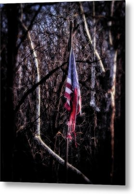 Metal Print featuring the photograph Faded Glory by Alan Raasch