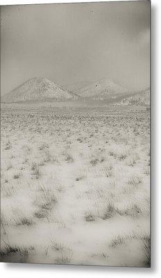 Faded Storm Metal Print by Scott Sawyer