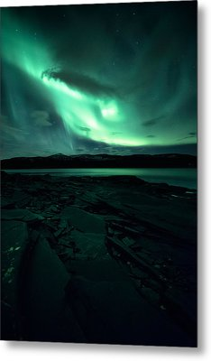 Faded Metal Print by Tor-Ivar Naess