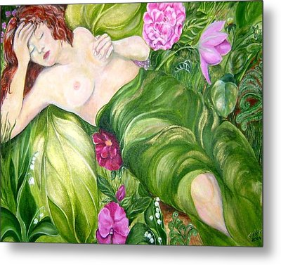 Faery Dreams Metal Print