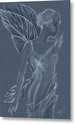 Faery Shadow Metal Print