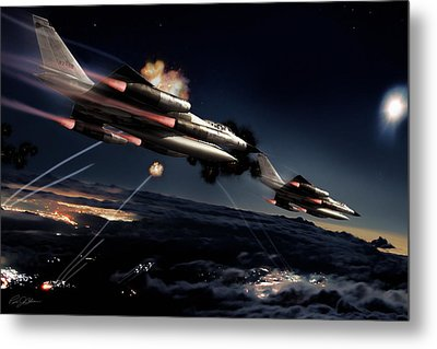 Fail Safe Metal Print by Peter Chilelli