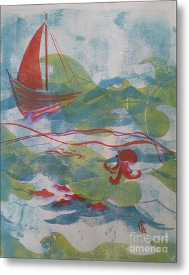 Fair Winds Calm Seas Metal Print