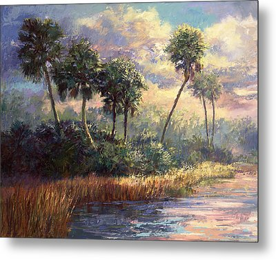 Fairchild Gardens Metal Print by Laurie Hein