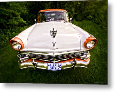 Fairlane Metal Print by Jerry Golab