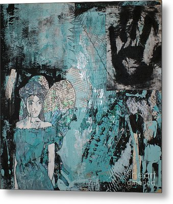 Fairy 1 Metal Print by Joanne Claxton
