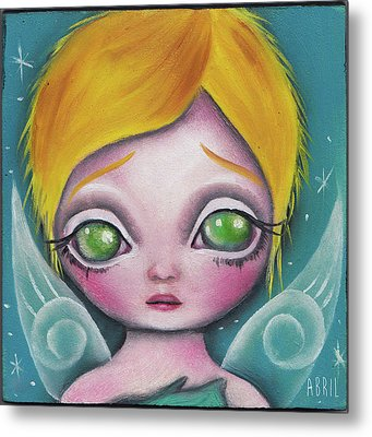 Fairy  Metal Print by Abril Andrade Griffith