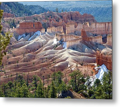 Fairy Land Hoodoos Metal Print by Amelia Racca