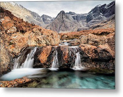Fairy Pools Metal Print by Grant Glendinning