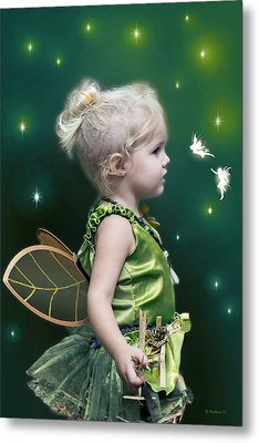 Fairy Princess Metal Print by Brian Wallace