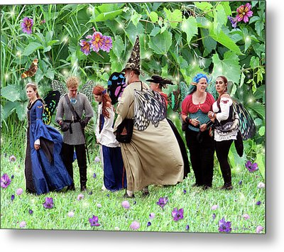 Fairy Queue Metal Print