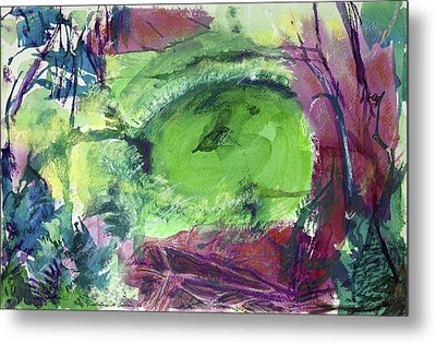 Fairy Ring, Lasso Forest Metal Print