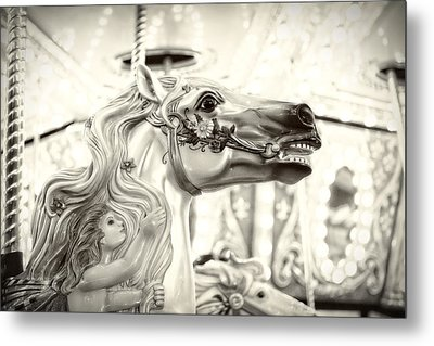 Fairy Steed Metal Print by Caitlyn  Grasso