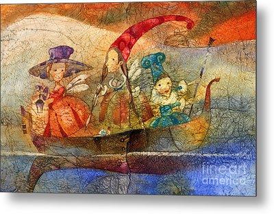 Fairy Metal Print by Svetlana and Sabir Gadzhievs