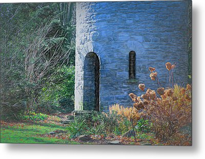 Fairy Tale Tower Metal Print by Patrice Zinck