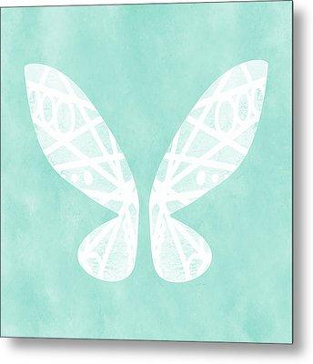 Fairy Wings- Art By Linda Woods Metal Print