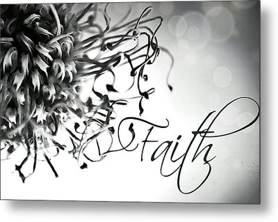 Metal Print featuring the photograph Faith by Bobby Villapando