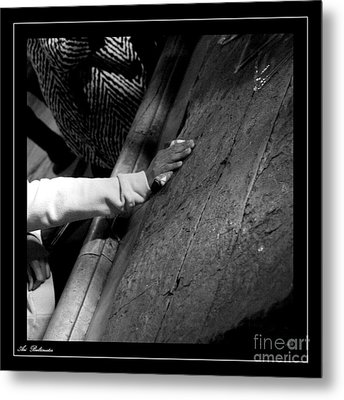 Faith Hands 2. Metal Print