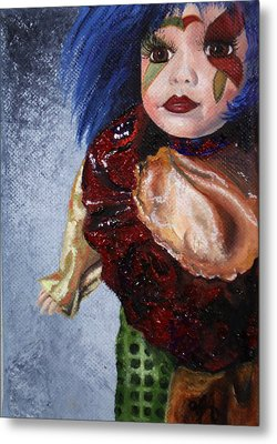 Metal Print featuring the painting Faith by Jane Autry