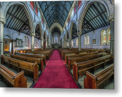 Faith Of Our Fathers  Metal Print by Ian Mitchell