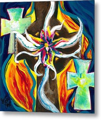 Faith Metal Print by Susan Cooke Pena