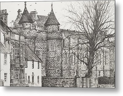 Falkland Palace Metal Print by Vincent Alexander Booth
