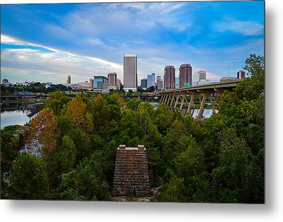 Fall Approaching In Richmond Metal Print