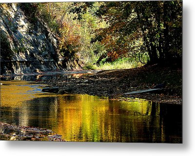 Fall At Big Creek Metal Print