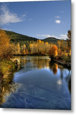 Fall At Blackbird Island Metal Print