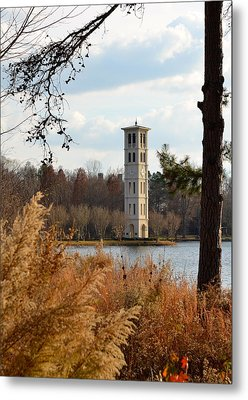 Fall At Furman Metal Print by Corinne Rhode