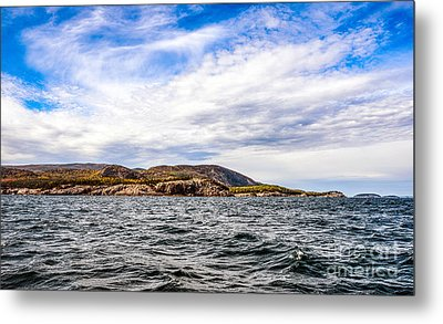 Metal Print featuring the photograph Fall At Somes Sound by Anthony Baatz