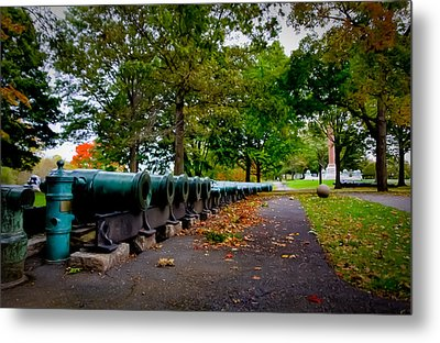 Fall At West Point Metal Print by David Hahn