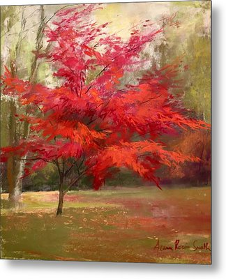 Fall Color Metal Print by Jeanne Rosier Smith
