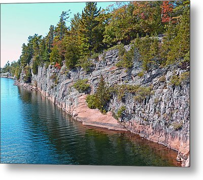 Fall In Muskoka Metal Print by Claire Bull