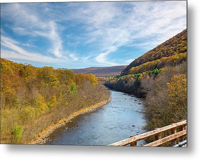 Fall In Pa Metal Print by Jack R Perry