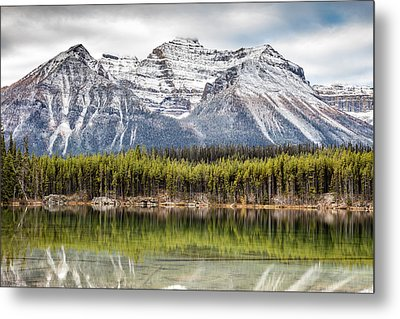 Metal Print featuring the photograph Fall In The Canadian Rockies by Pierre Leclerc Photography