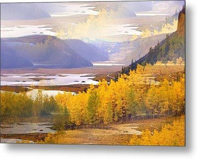 Fall In The Rockies Metal Print by Marty Koch