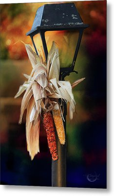 Fall Is Coming Metal Print by Theresa Campbell