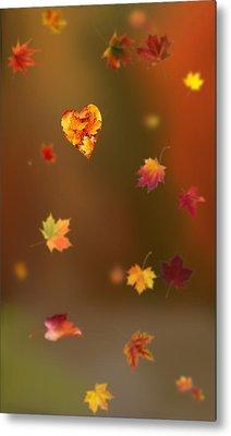 Fall Love Metal Print