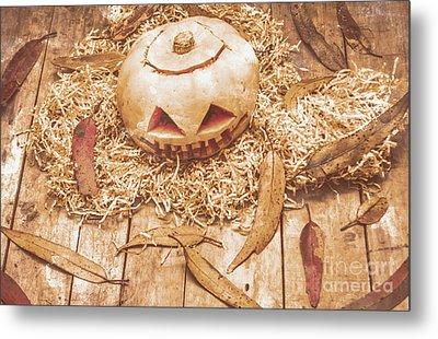 Fall Of Halloween Metal Print by Jorgo Photography - Wall Art Gallery