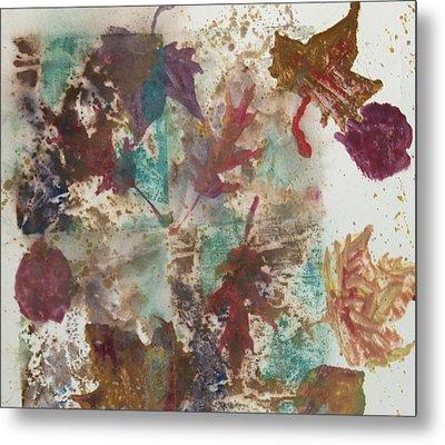 Fall Treasures Metal Print by Claudia Smaletz
