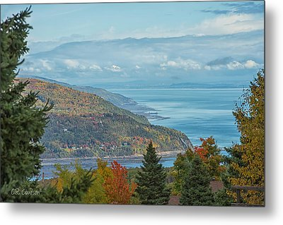 Fall View Of The St. Lawrence Metal Print by CR  Courson