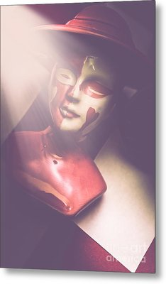 Fallen Queen Of Hearts Chess Piece Metal Print by Jorgo Photography - Wall Art Gallery