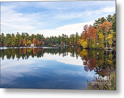 Metal Print featuring the photograph Falling For New Hampshire by Anthony Baatz