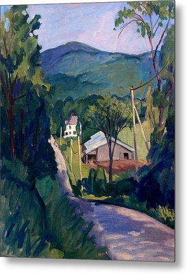 Falling Light Berkshires Metal Print by Thor Wickstrom