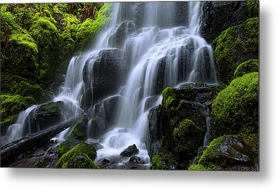 Falls Metal Print by Chad Dutson