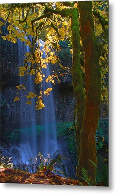 Falls In The Fall Metal Print