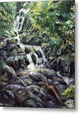 Falls  Metal Print by Paul Weerasekera