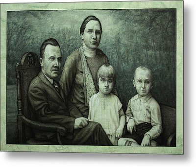 Family Portrait Metal Print